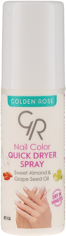 Sušicí sprej na nehty - Golden Rose Nail Quick Dryer Spray — foto N1