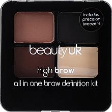 Parfémy, Parfumerie, kosmetika Sada na tvarování obočí - Beauty UK High Brow and Eyebrow Kit