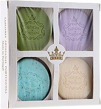 Parfémy, Parfumerie, kosmetika Sada - Essencias De Portugal Senses Natural (soap/4x50g) (4 x 50 g)