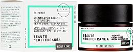 "Parfémy, Parfumerie, kosmetika Krém na obličej ""Super Green Hydratizing"" - Beaute Mediterranea Hemp Line Cream Super Green Moisturizer"