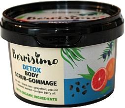 Parfémy, Parfumerie, kosmetika Tělový peeling-gomáž - Berrisimo Detox Body Scrub-Gommage