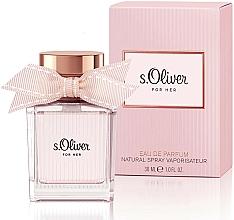 Parfémy, Parfumerie, kosmetika S.Oliver For Her - Parfémovaná voda