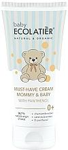 Parfémy, Parfumerie, kosmetika Krém pro miminka s D-panthenolem - Ecolatier Baby