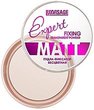 Parfémy, Parfumerie, kosmetika Transparentní fixační pudr - Luxvisage