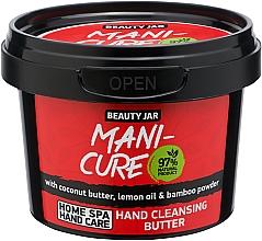 Parfémy, Parfumerie, kosmetika Čisticí olej na ruce - Beauty Jar Mani-Cure Hand Cleansing Butter