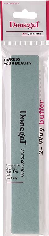 Oboustranný pilník na nehty, 800/3600 - Donegal — foto N1