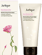 Parfémy, Parfumerie, kosmetika Hluboce hydratační pleťová maska - Jurlique Rose Moisture Plus Moisturising Cream Mask