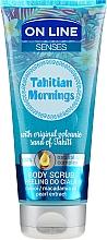 Parfémy, Parfumerie, kosmetika Tělový peeling - On Line Senses Body Scrub Tahitian Morning