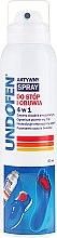 Parfémy, Parfumerie, kosmetika Sprej na nohy - Undofen Active Foot Spray 4in1