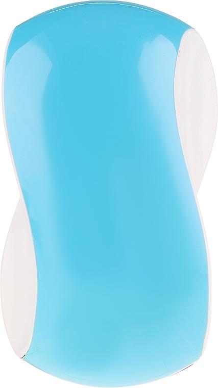 Kartáč na vlasy, světle modrý s bílým - Twish Spiky 1 Hair Brush Sky Blue & White