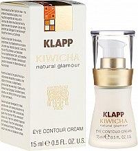 Parfémy, Parfumerie, kosmetika Krém-fluid na pokožku kolem očí - Klapp Kiwicha Eye Contour Cream