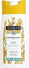 Parfémy, Parfumerie, kosmetika Organický šampon na vlasy a tělo s trávami, bez přidání mýdla - Coslys Body Care Body And Hair Shampoo With Cereals
