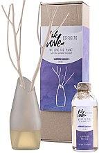 Parfémy, Parfumerie, kosmetika Aroma difuzér se skleněnou vázou - We Love The Planet Charming Chestnut Diffuser