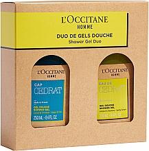 Parfémy, Parfumerie, kosmetika Sada - L'Occitane Cedrat Duo Set (sh/gel/250ml + sh/gel/250ml)