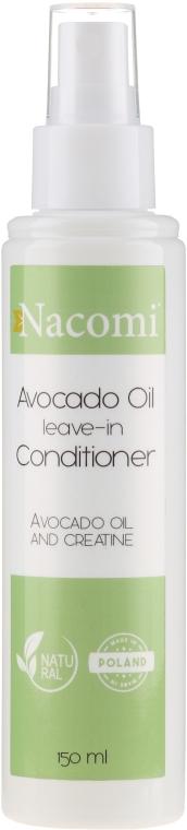 Kondicionér na vlasy s avokádovým olejem a keratinem - Nacomi Natural Avocado Oil And Keratin Hair Conditioner — foto N1