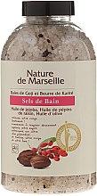 Parfémy, Parfumerie, kosmetika Sůl do koupele s vůní godži a bambuckým olejem - Nature de Marseille