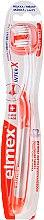Parfémy, Parfumerie, kosmetika Měkký zubní kartáček, průsvitný/oranžový - Elmex Toothbrush Caries Protection InterX Soft Short Head