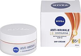 "Parfémy, Parfumerie, kosmetika Denní krém ""Energie mládí 65 +"" - Nivea Anti-Wrinkle Contouring Day Care 65+"