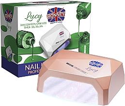 Parfémy, Parfumerie, kosmetika Lampa CCFL+LED, béžová - Ronney Profesional Lucy CCFL + LED 38W (GY-LCL-021) Lamp