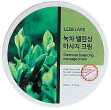 Parfémy, Parfumerie, kosmetika Masážní krém obnovujíci rovnováhu s zeleným čajem - Lebelage Green Tea Balancing Massage Cream
