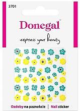 Parfémy, Parfumerie, kosmetika Nálepky na nehty, 3701 - Donegal