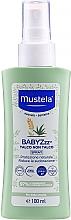 Parfémy, Parfumerie, kosmetika Repelentní sprej na odpuzování komárů - Mustela Bebe BabyZzz Talco Non Talco