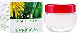 Parfémy, Parfumerie, kosmetika Krém na obličej s extraktem z hlemýžďů - Hristina Cosmetics Handmade Snail Night Cream