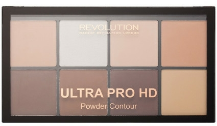 Konturovací paleta - Makeup Revolution HD Pro Powder Contour