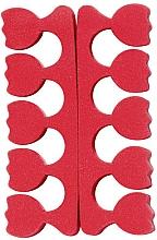 Parfémy, Parfumerie, kosmetika Oddělovače prstů na nohou ve tvaru tulipánů, červené - Peggy Sage
