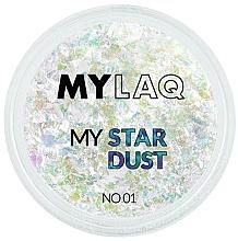 Parfémy, Parfumerie, kosmetika Glitr na nehty - MylaQ My Star Dust