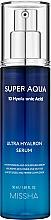 Parfémy, Parfumerie, kosmetika Hydratační pleťové sérum - Missha Super Aqua Ultra Hyalron Serum