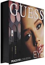 Parfémy, Parfumerie, kosmetika Sada - Guess Beauty Peach 101 Eye Lookbook (mascara/4ml + eyeliner/0.5g + 12xeye/sh/1.96g)