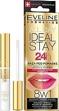 Parfémy, Parfumerie, kosmetika Základ pod rtěnku - Eveline Cosmetics All Day Ideal Stay Lipstick Primer