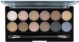 Paleta očních stínů - MUA Undressed Eyeshadow Palette — foto N2