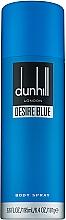 Parfémy, Parfumerie, kosmetika Alfred Dunhill Desire Blue - Sprej na tělo