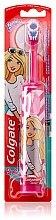 Parfémy, Parfumerie, kosmetika Dětský elektrický zubní kartáček, superměkký, Barbie, růžovo-bílý - Colgate Electric Motion Barbie