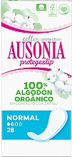 Parfémy, Parfumerie, kosmetika Dámské slipové vložky, 28 ks - Ausonia Cotton Protection Normal