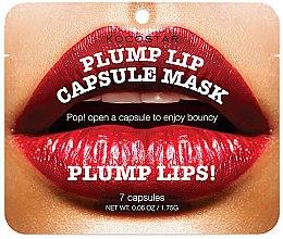 Parfémy, Parfumerie, kosmetika Sérum pro zvětšení objemu rtů v kapsli - Kocostar Plump Lip Capsule Mask Pouch