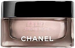 Parfémy, Parfumerie, kosmetika Zpevňující krém proti vráskám - Chanel Le Lift Creme Smoothing And Firming Rich Cream