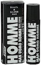 Parfémy, Parfumerie, kosmetika Omerta Black & Silver Man - Toaletní voda