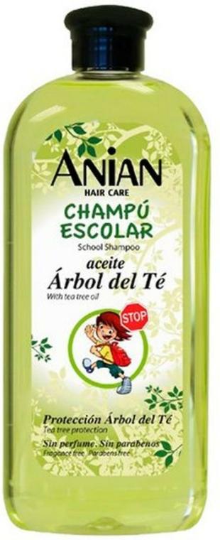 Šampon s olejem z čajového dřeva - Anian School Shampoo With Tea Tree Oil — foto N1