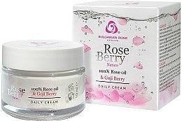 Parfémy, Parfumerie, kosmetika Denní krém na obličej - Bulgarian Rose Rose Berry Nature Day Cream