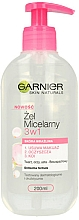 Parfémy, Parfumerie, kosmetika Micelární gel pro citlivou plet' - Garnier Skin Naturals Cleansing Micellar Gel