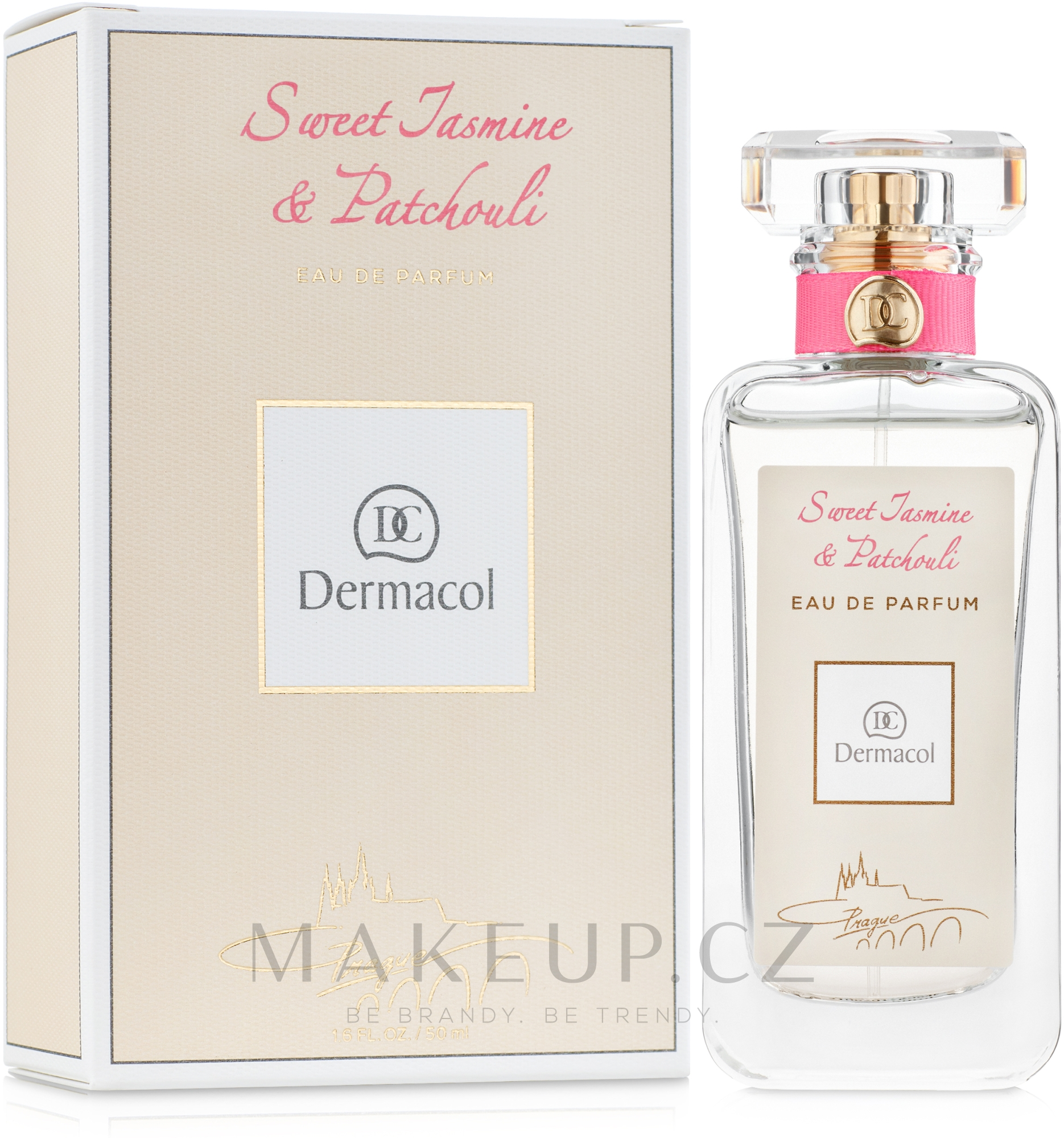 Dermacol Sweet Jasmine And Patchouli - Parfémovaná voda — foto 50 ml
