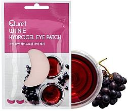 Parfémy, Parfumerie, kosmetika Náplastí pod oči - Quret Wine Hydrogel Eye Patch