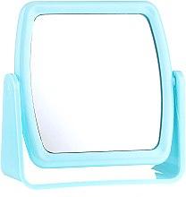 Parfémy, Parfumerie, kosmetika Zrcadlo na stojanu 85727, čtvercové, modré - Top Choice Beauty Collection Mirror