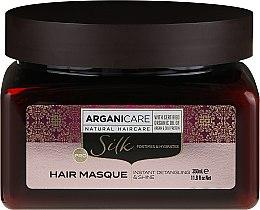 Parfémy, Parfumerie, kosmetika Maska na vlasy s hedvábným proteinem - Arganicare Silk Hair Masque