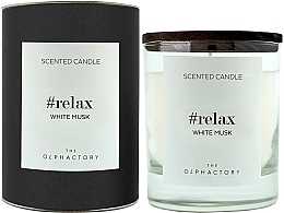 Parfémy, Parfumerie, kosmetika Aromatická svíčka Bílé pižmo - Ambientair The Olphactory Relax White Musk Black Design