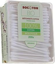 Parfémy, Parfumerie, kosmetika Vatové tyčinky organické, 200 ks. - Bocoton Bio