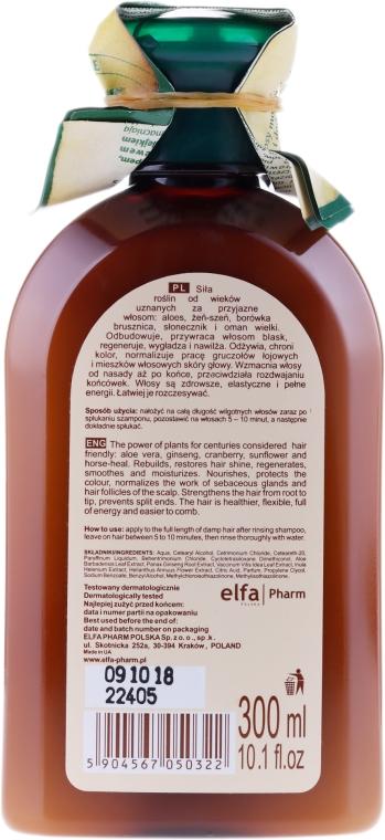 """Balzám-maska pro barvené a melírované vlasy """"Aloe"""" - Green Pharmacy — foto N2"""